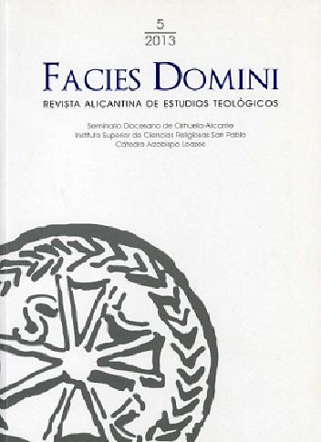 Facies Domini: Revista alicantina de estudios teológicos