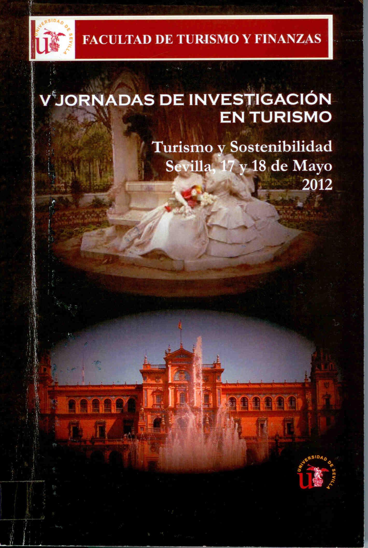 Turismo Y Sostenibilidad V Jornadas De Investigacion En