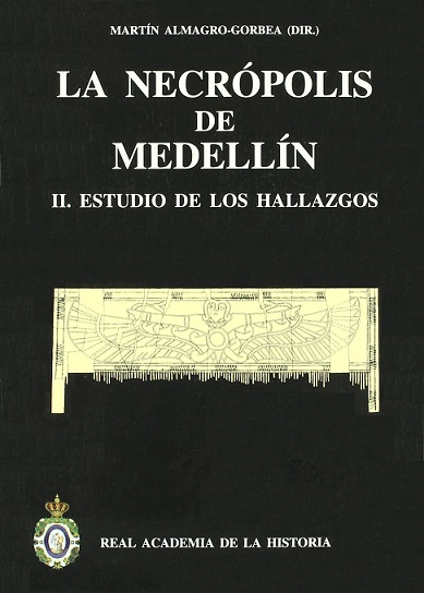 Imagen de portada del libro La necrópolis de Medellín