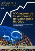 Imagen de portada del libro IV Congreso de la Asociación de Demografía Histórica