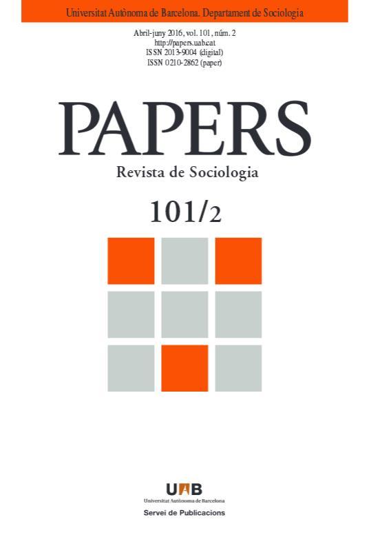 Imagen de portada de la revista Papers