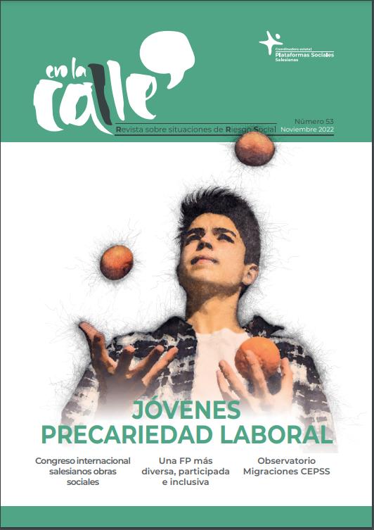 Imagen de portada de la revista En la calle
