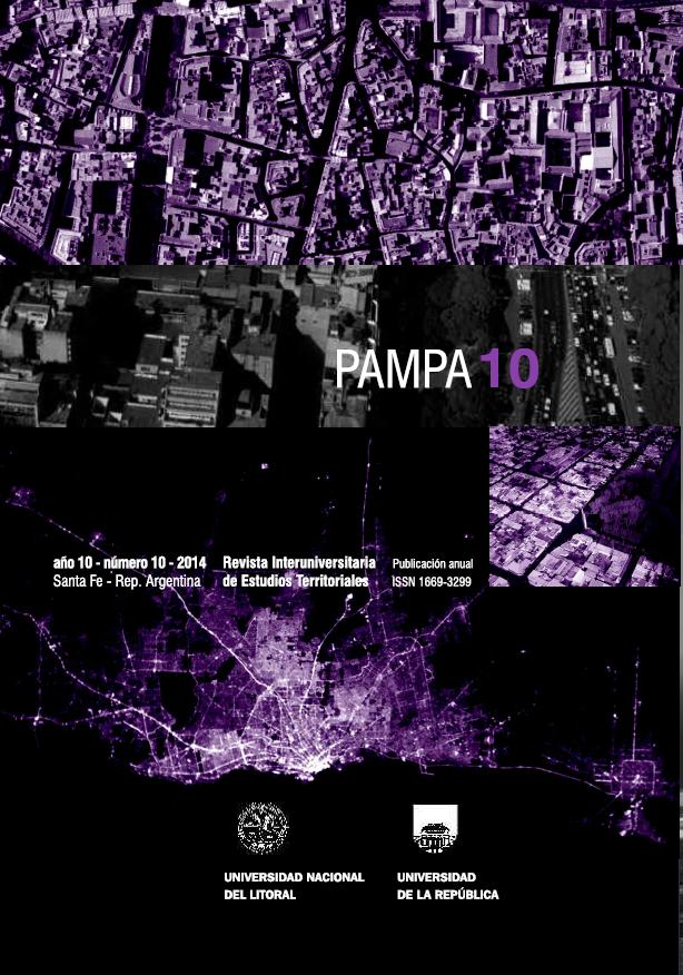Imagen de portada de la revista Pampa
