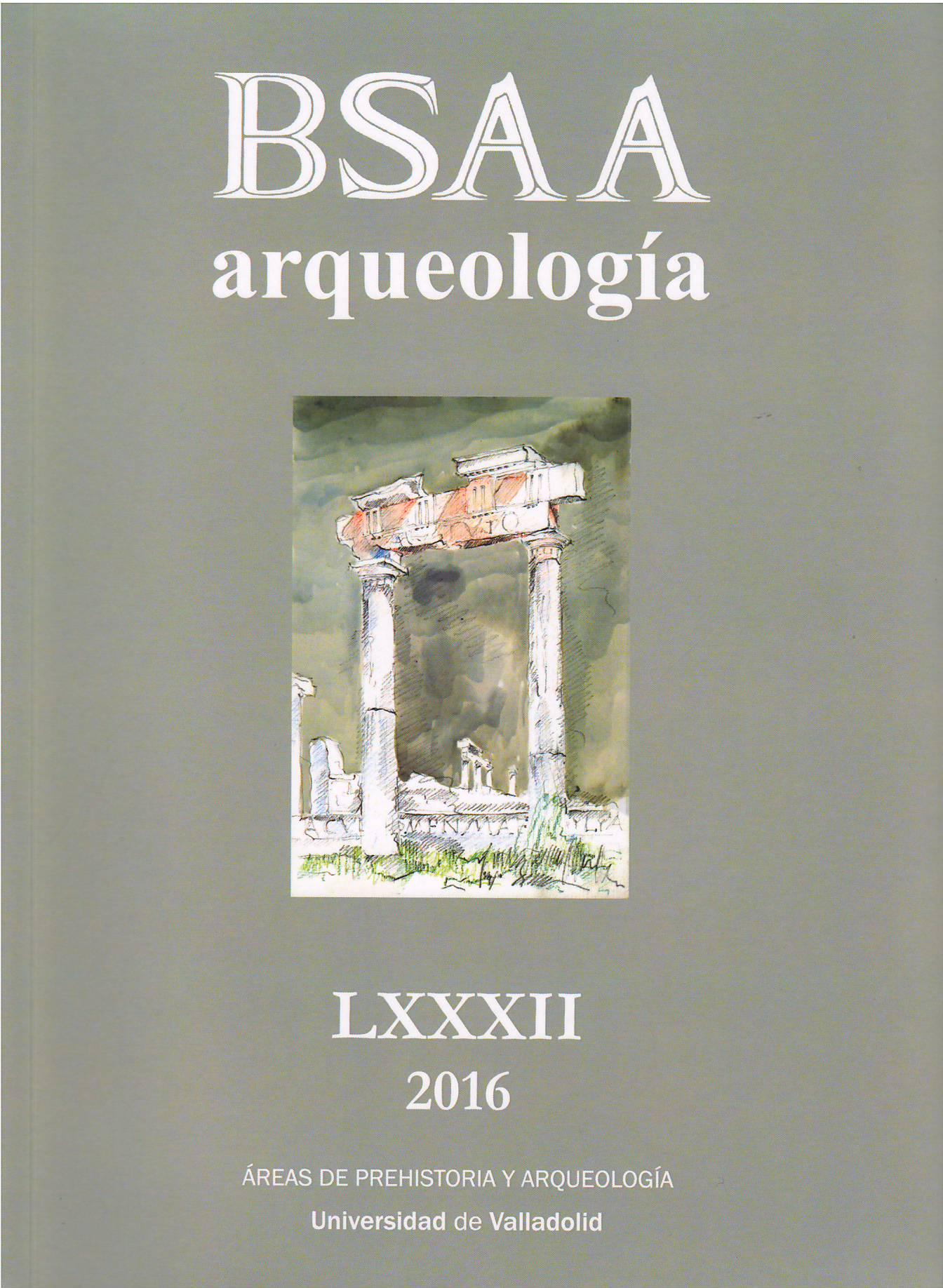 Imagen de portada de la revista BSAA Arqueología