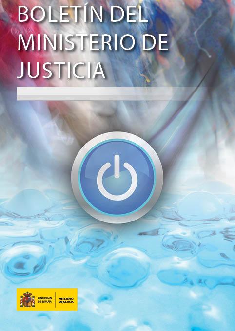 Imagen de portada de la revista Boletín del Ministerio de Justicia