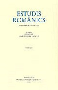 Imagen de portada de la revista Estudis romànics