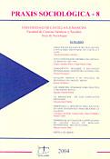 Imagen de portada de la revista Praxis sociológica