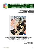 Imagen de portada de la revista Revista de estilos de aprendizaje