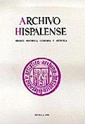 Imagen de portada de la revista Archivo hispalense